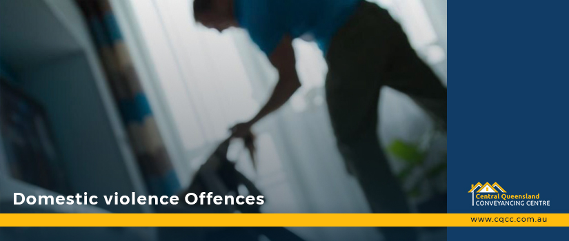 DOMESTIC VIOLENCE OFFENCES