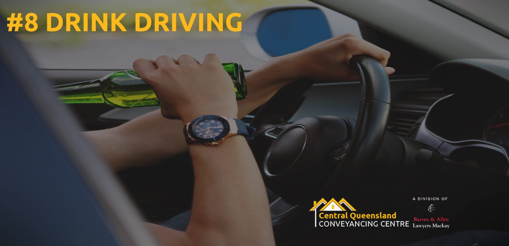 Driving Law Count Down #8-  Drink driving