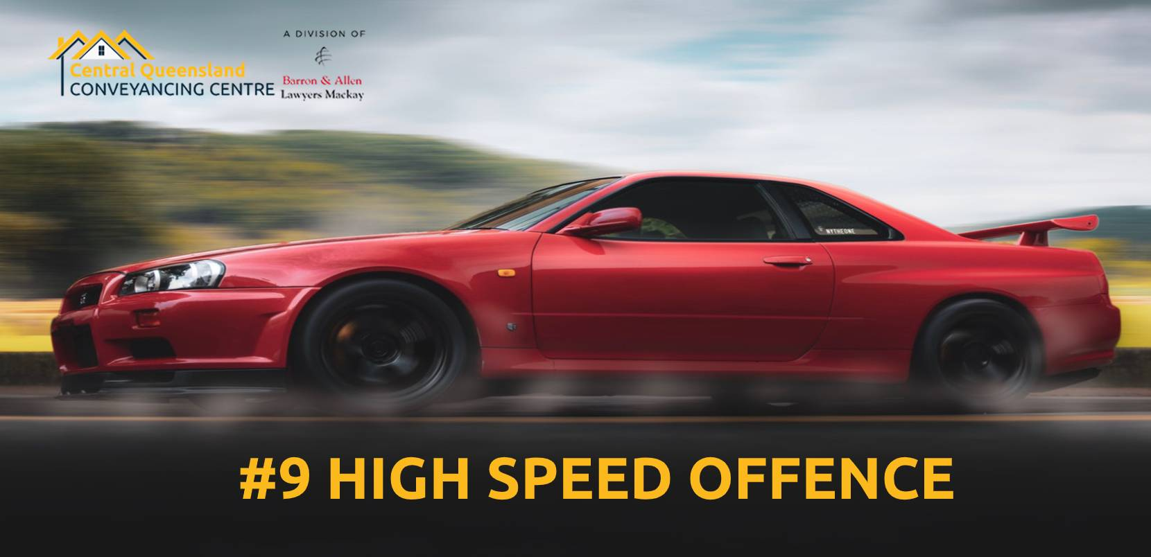 Driving Law Count Down #09- High Speed Offence